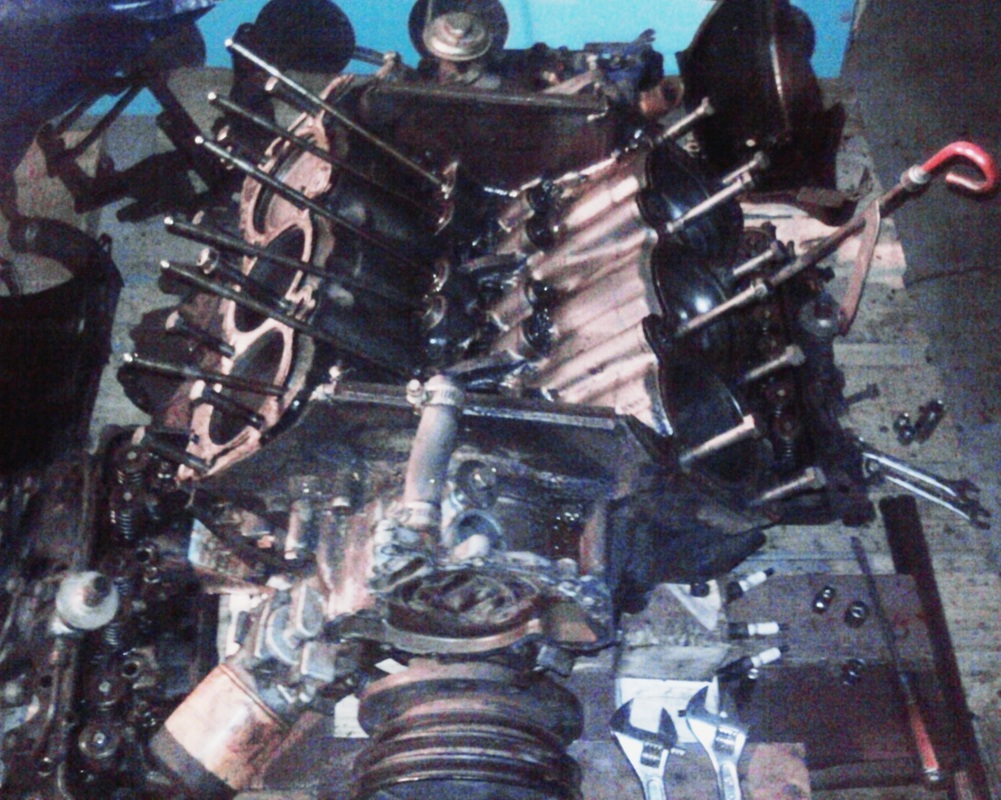 1977 Buick Skylark Rebuild 231 V6 38l Odd Fire By Jason Karstens 1l Engine Hose Diagram 3 Before You Get This Far Remove The Vacuum Lines Marking Them Or Taking Pics And Then All Large External Parts First Like Exhaust Manifolds